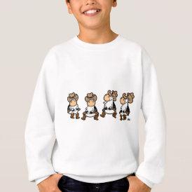 Linedancing Cows Sweatshirt
