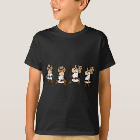 Linedancing Cows T-Shirt