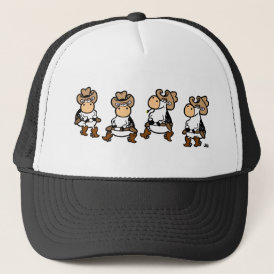 Linedancing Cows Trucker Hat