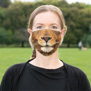 Lion Bottom Face Cloth Face Mask