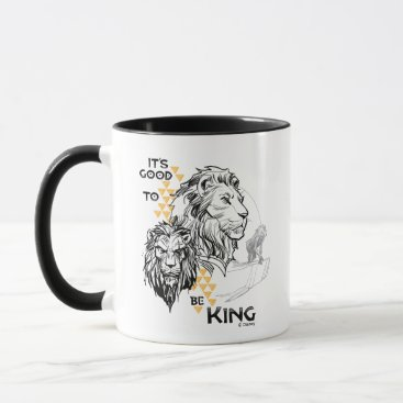 Lion King   It's Good To Be King Mug