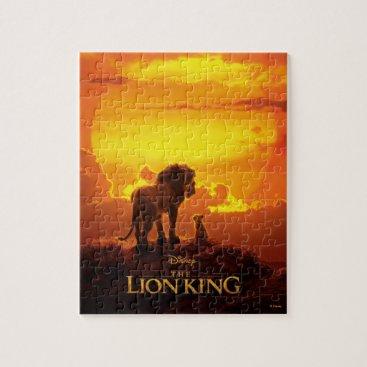 Lion King | Mufasa & Simba At Sunset Jigsaw Puzzle