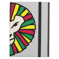 Lion Rastafarian Flag iPad Air Cover