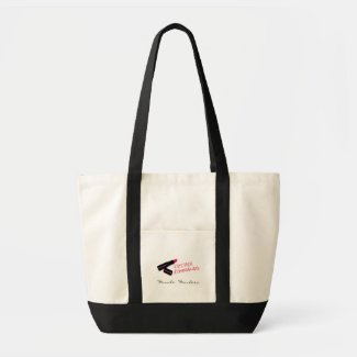 Lipstick Commando Tote Bag bag