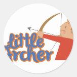 Little Archer Classic Round Sticker