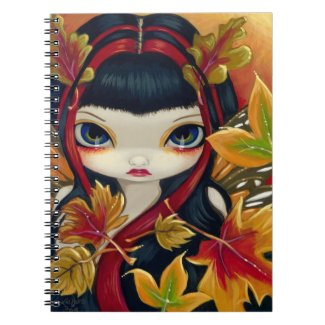 """Little Autumn Leaves"" Notebook"