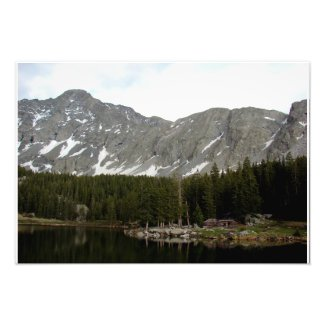 Little Bear Peak and Lake Como Photo Print