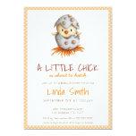 ❤️ Little Chick Gender Neutral Baby Shower Invitation