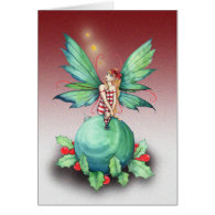 Little Christmas Fairy Christmas Card