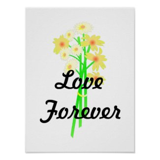 Little Daisy Bouquet Poster