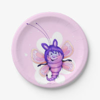 LITTLE FAIRY 3 CARTOON Paper Plates 9