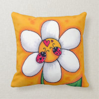 Little Ladybugs Pillow