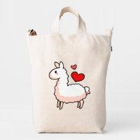 Little Llama Duck Bag