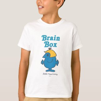 Little Miss Brainy | Brain Box T-Shirt
