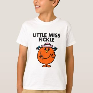 Little Miss Fickle | Black Lettering T-Shirt
