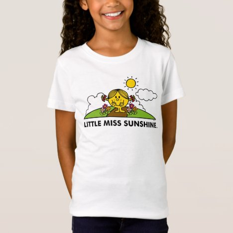 Little Miss Sunshine | Back To Nature T-Shirt