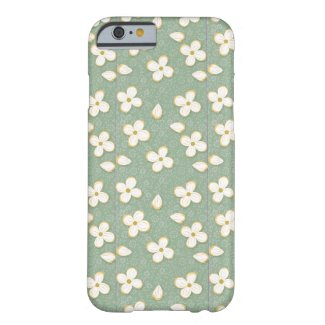 Little White Flowers Barely There iPhone 6 Case