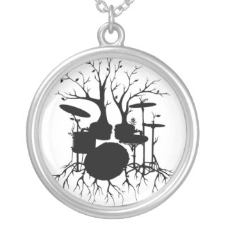 Live the Beat to the Tempo of Creation ~ drum set necklace