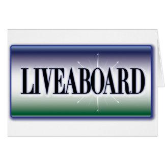 Liveaboard Greeting Cards