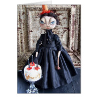 Lizzie Borden Birthday Card