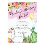 Llama and Cactus Bridal Shower Fiesta Invitation