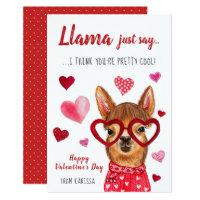 Llama Just Say | Valentine's Day Card
