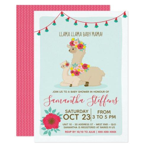 Llama Llama Baby Llama Baby Shower Invitation
