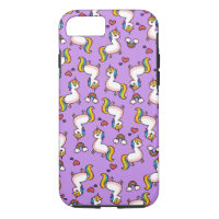 Llamacorn Madness iPhone 8/7 Case