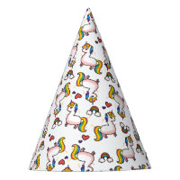 Llamacorn Madness Party Hat