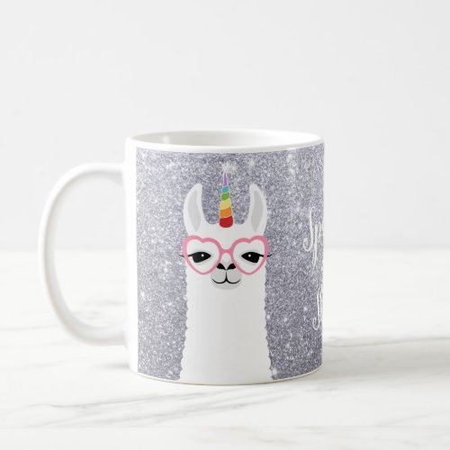 Llamacorn Sparkle and Shine Coffee Mug