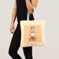 Lllamaste Tote Bag
