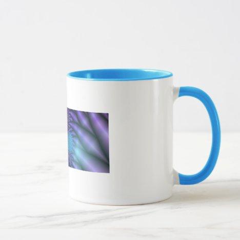 Looking Inward - Amethyst & Azure Mystery Mug