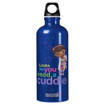 Looks Like You Need a Cuddle Aluminum Water Bottle