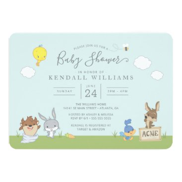 LOONEY TUNES™ Baby Shower Invitation