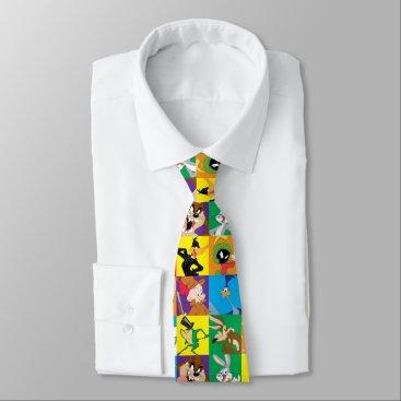 LOONEY TUNES™ Character Grid Neck Tie