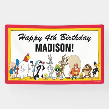 LOONEY TUNES™ Character Group | Birthday Banner