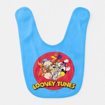 LOONEY TUNES™ Character Logo Baby Bib