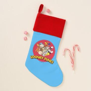 LOONEY TUNES™ Character Logo Christmas Stocking