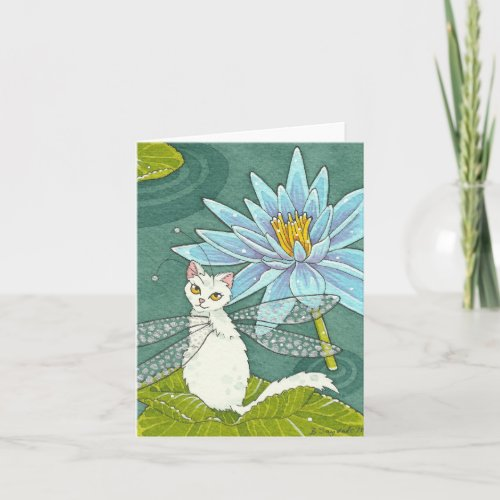 Lotus catterfly note card