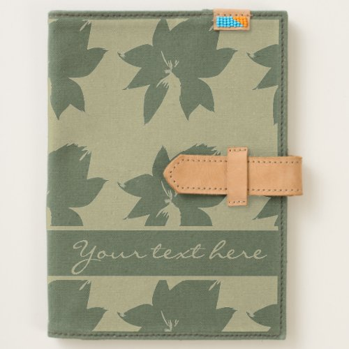 Lotus Silhouette with Name Journal