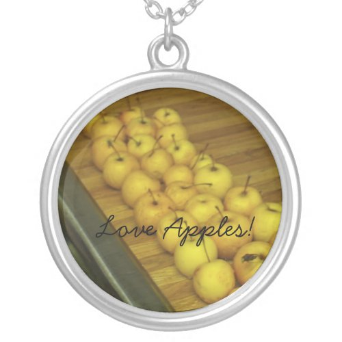 Love Apples! necklace