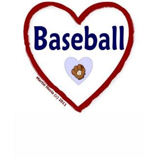 Love Baseball shirt
