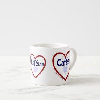 Love Café Con Leche - Espresso Mug