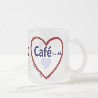 Love Café Latté - Frosted Mug