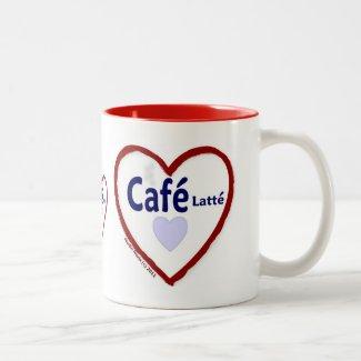 Love Café Latté - Two-Tone Mug
