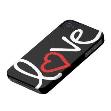 love iPhone 4 Case-Mate case