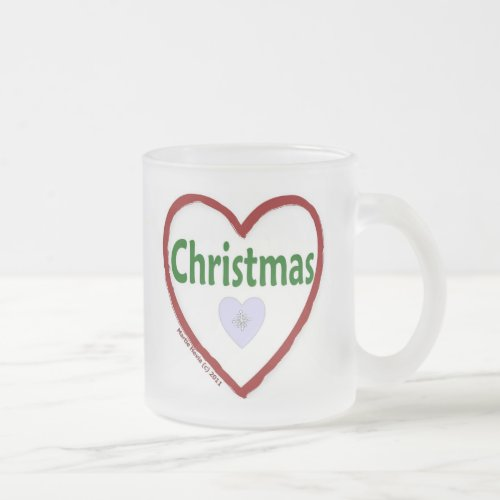Love Christmas Coffee Mug