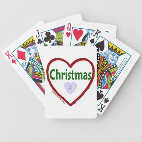 Love Christmas Deck Of Cards