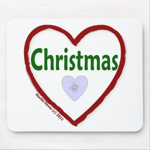 Love Christmas Mousepad