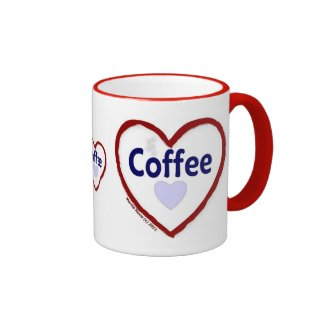 Love Coffee - Ringer Mug